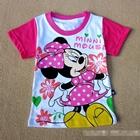 เสื้อแขนสั้น-Minnie-ปีกผีเสื้อ-สีชมพู-(6-ตัว/pack)