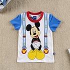 เสื้อแขนสั้น-Mickey-สายเอี๊ยม-(6-ตัว/pack)