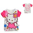 เสื้อแขนสั้น-Hello-Kitty-แบ๊วเวอร์-(6-ตัว/pack)