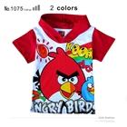 เสื้อแขนสั้น-Red-Bird-มีฮูด-สีแดง-(6-ตัว/pack)