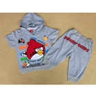 ชุดเสื้อกางเกง-Angry-Birds-มีฮูดสีเทา-(6-ตัว/pack)
