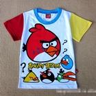 เสื้อแขนสั้น-Angry-Bird-แขนเหลืองแดง-(6-ตัว/pack)