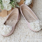 รองเท้าเจ้าหญิงไข่มุก-สีชมพู-(s24-29)-(6คู่/แพ็ค)