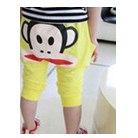 กางเกงขาสามส่วน-paul-frank-สีเหลือง(10-ตัว/pack)