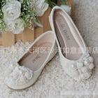 รองเท้าเจ้าหญิงไข่มุก-สีครีม(s30-35)-(6คู่/แพ็ค)