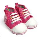 รองเท้าเด็กระบายใจ-สีชมพู