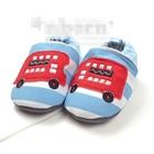 รองเท้าเด็กรถบัสแดง-(3-คู่/แพ็ค)