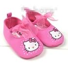 รองเท้าเด็ก-Hello-Kitty-โบว์แก้ว-(3-คู่/แพ็ค)