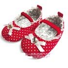 รองเท้าเจ้าหญิงลายจุดสีแดง
