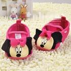 รองเท้าเด็ก-Minnie-Mouse-ลายจุดสีชมพู-(3-คู่/แพ็ค)