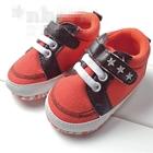 รองเท้าผ้าใบ-3-ดาว-สีส้ม-(3-คู่/แพ็ค)