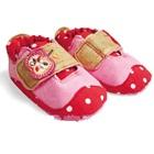 รองเท้าเด็กแอปเปิ้ลน้อยสีแดงชมพู