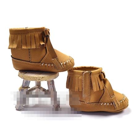 รองเท้าคาวเกิล สีน้ำตาล (3 คู่/แพ็ค)