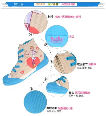 รองเท้าผ้าใบเจ้าชายน้อย สีชมพู (7คู่/แพ็ค)