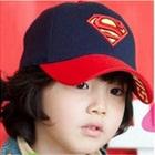 หมวกแก๊ป-Superman-สีกรมปีกแดง-(10-ใบ/แพ็ค)