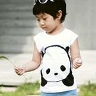 เสื้อยืด-Panda-สีขาว-(5size/pack)