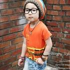 เสื้อยืด-BinyPig-สีส้ม-(5size/pack)