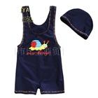ชุดว่ายน้ำกางเกงหอยทากน่ารัก-สีกรม-(5size/pack)
