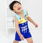 ชุดว่ายน้ำกางเกงวัวน้อยสีน้ำเงิน-(5size/pack)
