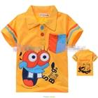 เสื้อแขนสั้น-SpongBob-สีเหลือง-(5size/pack)
