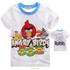 เสื้อแขนสั้น-Angry-Birds-สุดซ่า-สีขาว-(5size/pack)