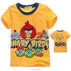 เสื้อแขนสั้น-Angry-Birds-สีเหลือง-(5size/pack)