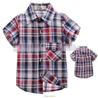 เสื้อเชิ้ต-CowBoy-สก๊อต-สีดำแดง-(5size/pack)