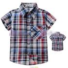 เสื้อเชิ้ต-CowBoy-สก๊อต-สีดำเทาแดง-(5size/pack)