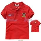 เสื้อโปโล-English-Boss-สีแดง-(5size/pack)
