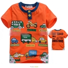 เสื้อแขนสั้น-CAR-DIRECTIONS-สีส้ม--(5size/pack)