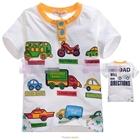 เสื้อแขนสั้น-CAR-DIRECTIONS-สีขาว-(5size/pack)