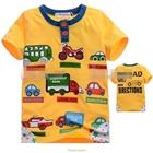 เสื้อแขนสั้น-CAR-DIRECTIONS-สีเหลือง-(5size/pack)