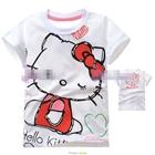 เสื้อแขนสั้น-Hello-Kitty-ขยิบตา-(5size/pack)