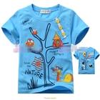เสื้อแขนสั้นบ้านนกฮูก-สีฟ้า-(5size/pack)