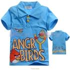 เสื้อโปโล-Angry-Birds-เตรียมยิง-สีฟ้า-(5size/pack)