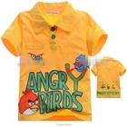 เสื้อโปโล-AngryBirds-เตรียมยิงสีเหลือง(5size/pack)