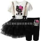 ชุดเดรสกางเกง-Black-Kitty-สีดำ-(5-ตัว/pack)