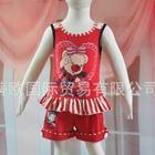 ชุดเสื้อกางเกง-Lover-Bear-สีแดง-(15-ตัว/pack)