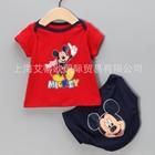 ชุดเสื้อกางเกง-Hello-Mickey-(3-ตัว/pack)