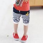 กางเกงขาสั้น-Navy-สีกรมท่า-(5-ตัว/pack)