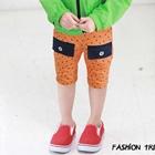กางเกงขาสั้น-GOLDFISH-ลายจุดสีส้ม-(5-ตัว/pack)