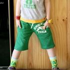กางเกงขาสั้น-12-TRACK-สีเขียว-(4-ตัว/pack)