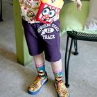 กางเกงขาสั้น-12-TRACK-สีม่วง-(4-ตัว/pack)
