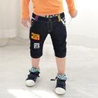 กางเกงยีนส์ขาสั้นหัวกะโหลก-(5-ตัว/pack)