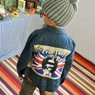 เสื้อแจ็คเก็ตยีนส์หนุ่มพังค์อังกฤษ-(4-ตัว/pack)