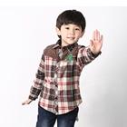เสื้อเชิ้ตคันทรี่ลายสก๊อต-สีน้ำตาล-(4-ตัว/pack)