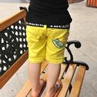 กางเกงขาสั้น-Peak-สีเหลือง-(5-ตัว/pack)