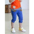 กางเกงขาสามส่วน-JEANS-CLICK-สีน้ำเงิน-(5-ตัว/pack)