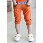 กางเกงขาสามส่วน-JEANS-CLICK-สีส้ม-(5-ตัว/pack)