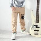 กางเกงขายาว-POLGEN65-สีกากี-(4-ตัว/pack)
